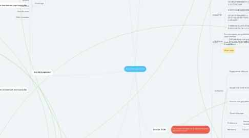 Mind Map: Éducateur spécialiser