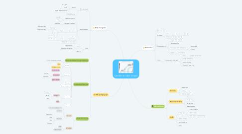 Mind Map: Les rôles du tuteur en ligne