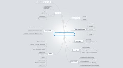 Mind Map: Mindmap til eksamensopgaven