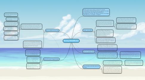 Mind Map: Boracay Rehabilitation