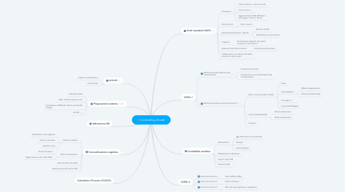 Mind Map: Controlling Arvedi