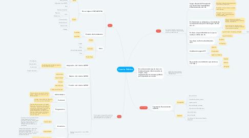 Mind Map: Cuenta Pública