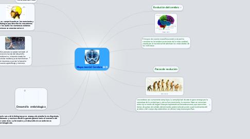 Mind Map: Mapa mental Cerebro