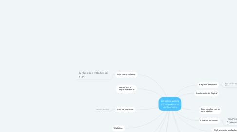 Mind Map: Desafios,Visões e Competências da Profissão