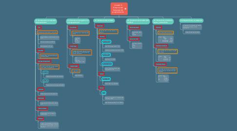 Mind Map: Unidad 2: Entorno del lenguaje de programación