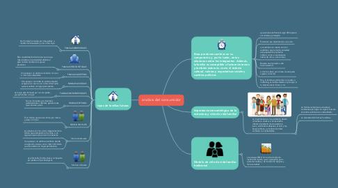 Mind Map: analisis del consumidor