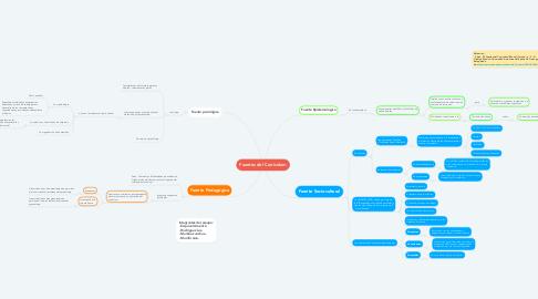 Mind Map: Fuentes del Curriculum