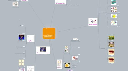 Mind Map: 10 В Азотсодержащие органические соединения
