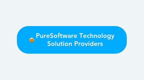 Mind Map: PureSoftware Technology Solution Providers