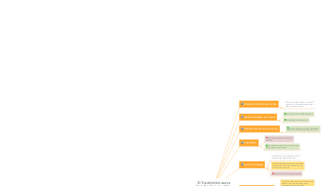 Mind Map: 10 Transferable Lessons from the Geniuses of the Renaissance