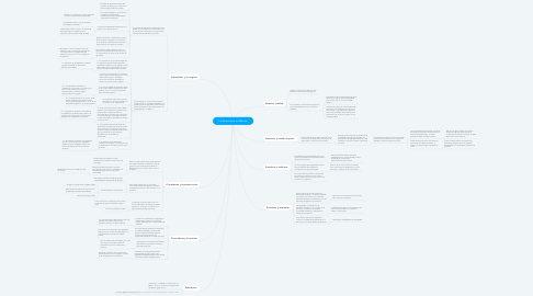 "Mind Map: ""La democracia en México"""
