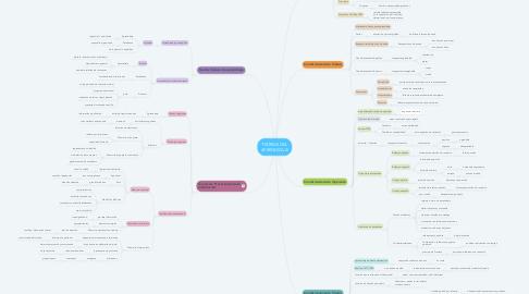 Mind Map: TEORIAS DEL APRENDIZAJE