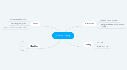 Mind Map: Dilong Wang