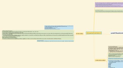 Mind Map: สังคมมนุษย์และโครงสร้างสังคม (1)