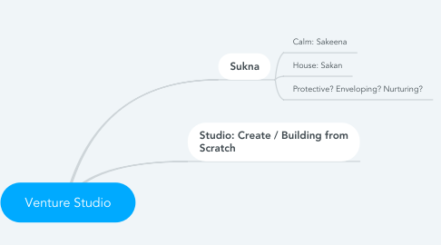 Mind Map: Venture Studio