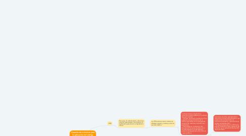 Mind Map: Lineamientos técnicos para la aplicación del código naranja en la RIIS