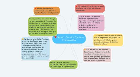 Mind Map: Servicio Social y Practicas Profesionales