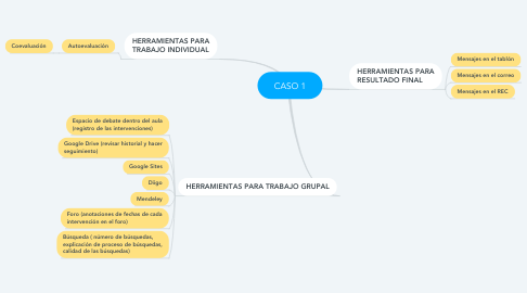 Mind Map: CASO 1