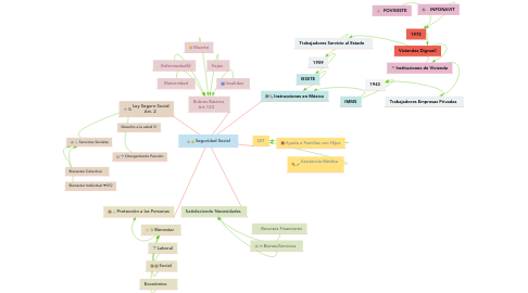 Mind Map: Seguridad Social