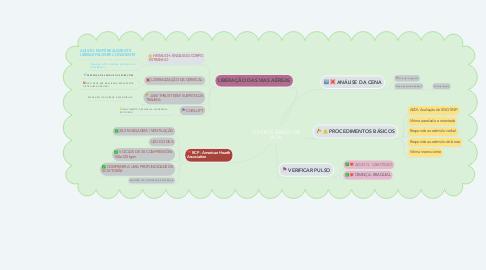 Mind Map: SUPORTE BÁSICO DE VIDA