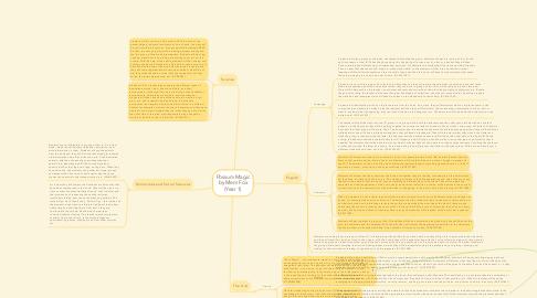 Mind Map: Possum Magic by Mem Fox (Year 1)