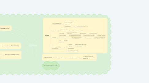 Mind Map: ORGANICKÝ  PSYCHOSYNDROM