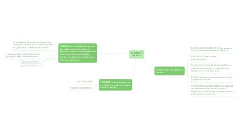 Mind Map: TORSION Y FLEXION