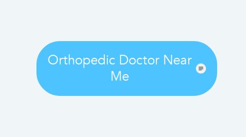 Mind Map: Orthopedic Doctor Near Me