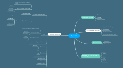 Mind Map: Aspel COI