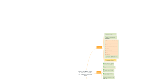 Mind Map: How a Note-Taking System Can Make You Look Like the Smartest Person in the Room