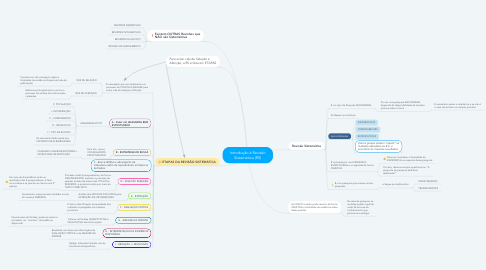 Mind Map: Introdução à Revisão Sistemática (RS)
