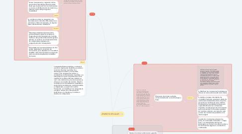 Mind Map: DIVISION CELULAR