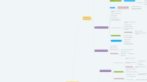 Mind Map: ORGANIZACIÓN DE LA ARGENTINA MODERNA