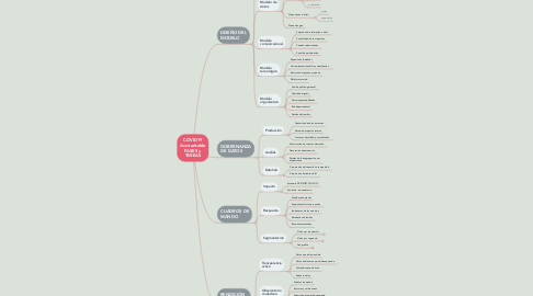 Mind Map: COVID19 Accountable FASES y TAREAS