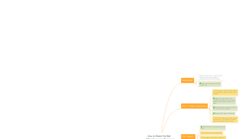 Mind Map: How to Resist the Bait When Someone Triggers You