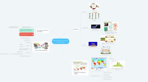 Mind Map: Rėchauffement climatique et paludisme