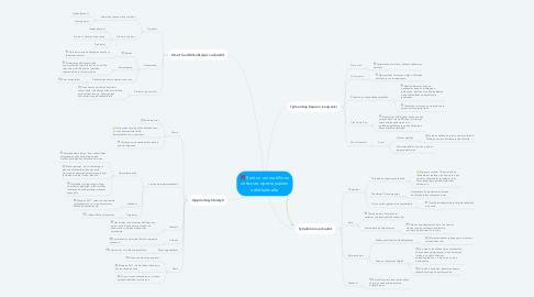 Mind Map: Santun ammatillinen verkosto opettajuuden näkökulmalla