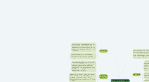 Mind Map: ENFERMAGEM NO BRASIL
