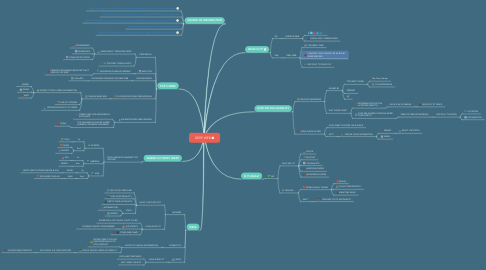 Mind Map: DEEP WEB