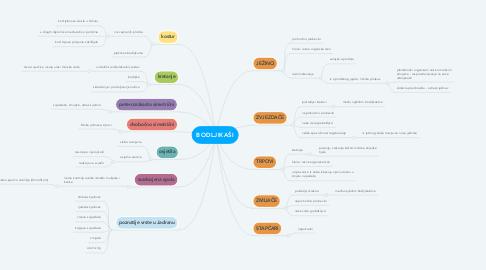 Mind Map: BODLJIKAŠI