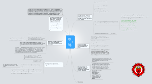Mind Map: Is the idea of having one partner for life still a realistic one?