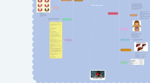 Mind Map: PERFIL BIOQUÍMICO