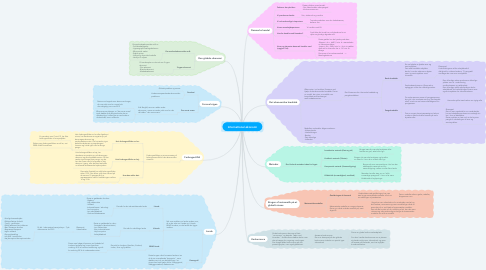 Mind Map: International økonomi