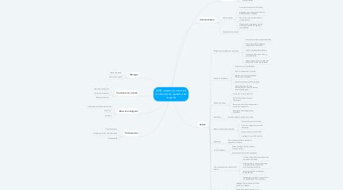 Mind Map: IADE, expert au cœur de la réforme du système de la santé