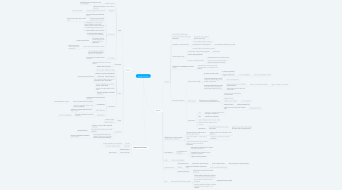 Mind Map: Apparato Genitale