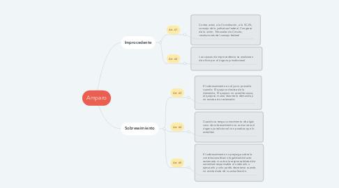 Mind Map: Amparo