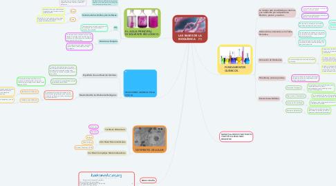 Mind Map: LAS BASES DE LA BIOQUÍMICA    (1)