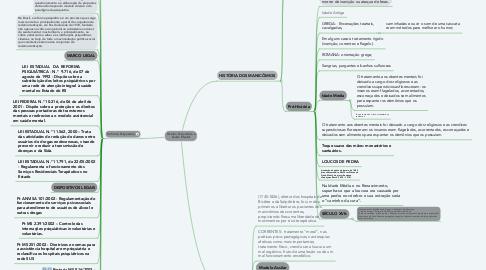 Mind Map: História Psiquiátrica e Saúde Mental