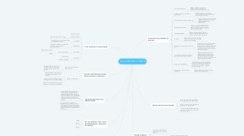 Mind Map: MEIO AMBIENTE X HOMEM