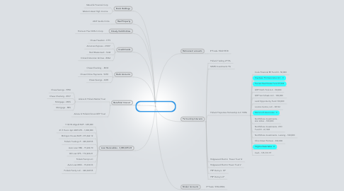 Mind Map: Sheldon Pollack Assets & Liabilities